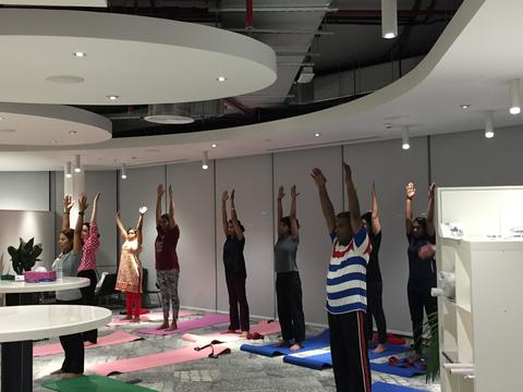 Yoga for Health at Cracknell
